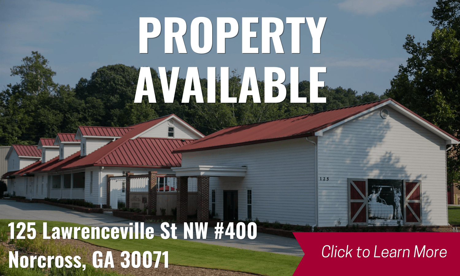 PROPERTY AVAILABLE: 125 Lawrenceville St, Suite 400, Click to learn more